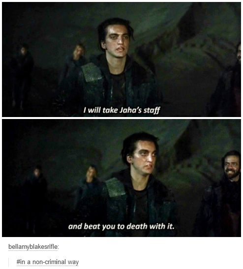 John Murphy || The 100 season 2 episode 14 - Bodyguard of Lies || Richard Harmon