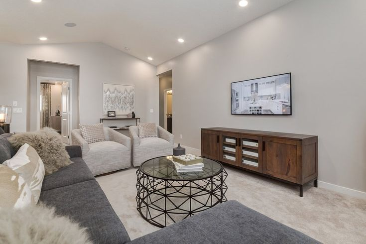 Show Homes In Calgary Surrounding Area Excel Homes Home 3 Bedroom Home Floor Plans Glam Living Room