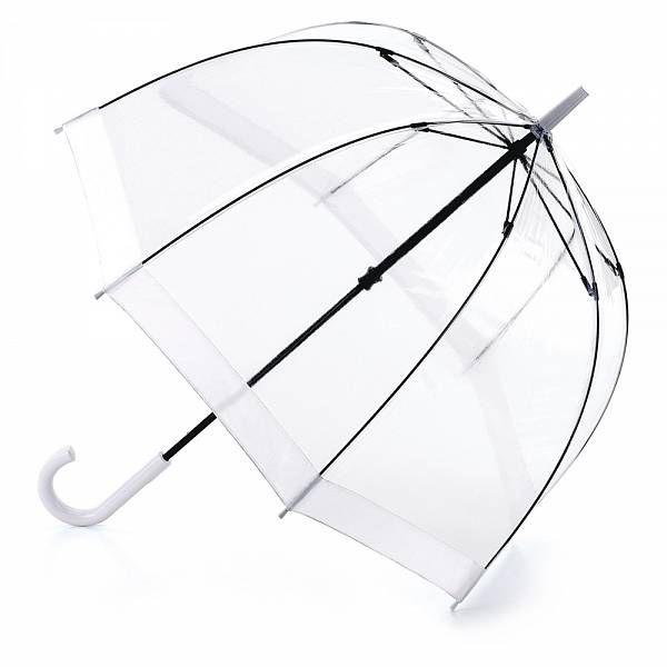 Shop Online: Birdcage-1 White (£19.00) - Women's Umbrella Range - Walking Umbrellas - Manual | Fulton Umbrellas