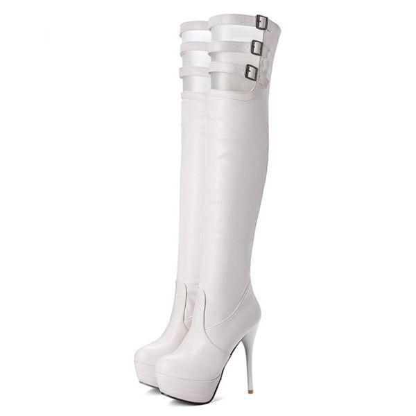 Boots Knee-high Boots Stiletto Heel