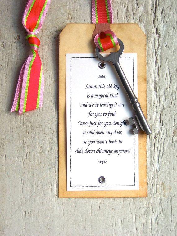 Best 25 Santa Key Ideas On Pinterest Santa S Magic Key