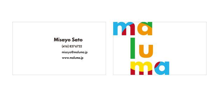 maluma business card Talovya Pinterest