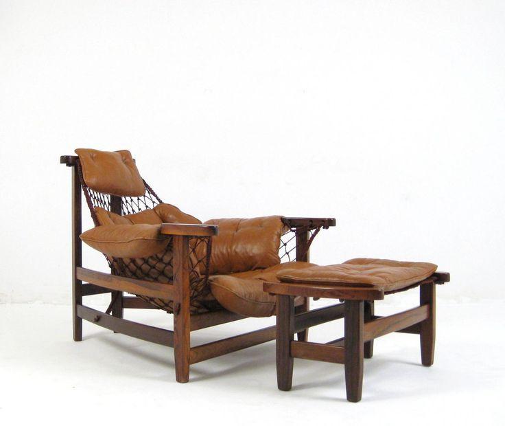 Jean Gillon captain's chair for Italma Wood Art Industria Brasileira 1962