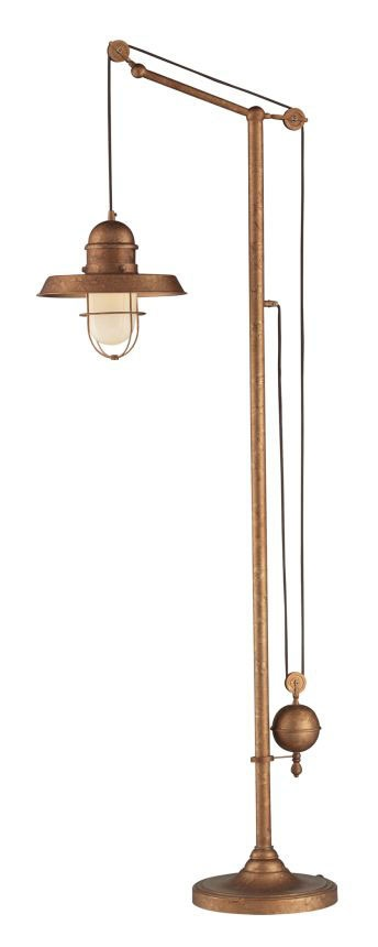 so in love with this ---> Landmark Farmhouse 65063-1 Bellwether Copper Floor Lamp Finish