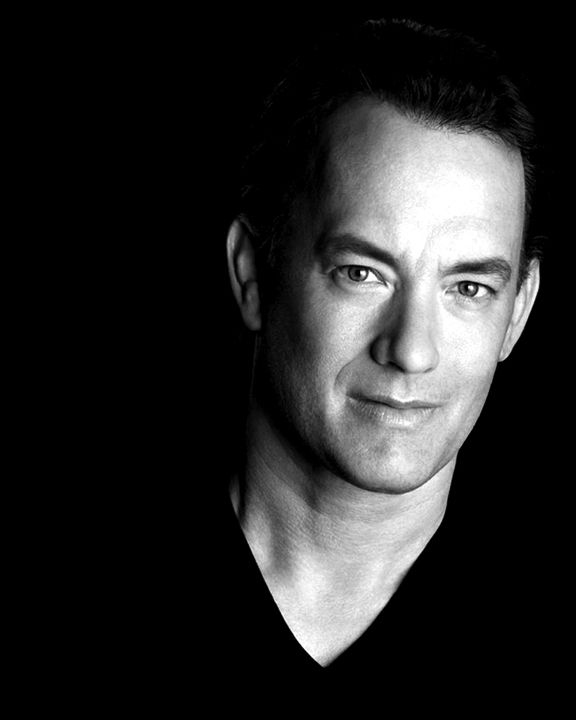 Tom Hanks, great formal portrait. His eyes radiate his quiet genius and easiness with his own talent.