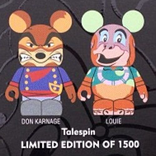 Upcoming Talespin set #disney #Vinylmation #80s