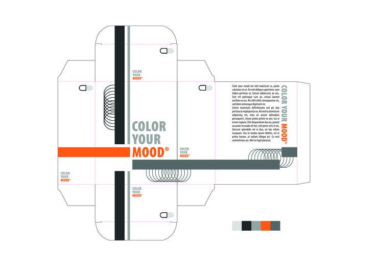 Angst / Als ik aan bang denk, denk ik meteen aan donkere plaatsen/kleuren. Ik heb voor grijstinten gekozen samen met oranje tinten, deze 2 kleuren staan voor angst.