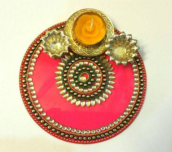 The 320 best pooja thali images on pinterest crafts ganesh and diwali puja thali red thalidecorative henna by justforelegance diwali diyafestival decorationsdiwali decorationsthali decoration ideaswedding junglespirit Gallery