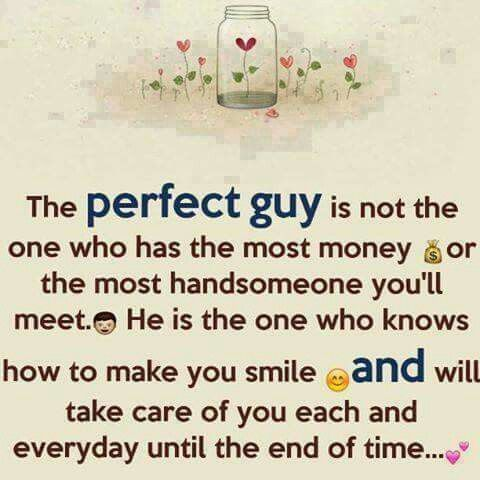 The PERFECT GUY.....