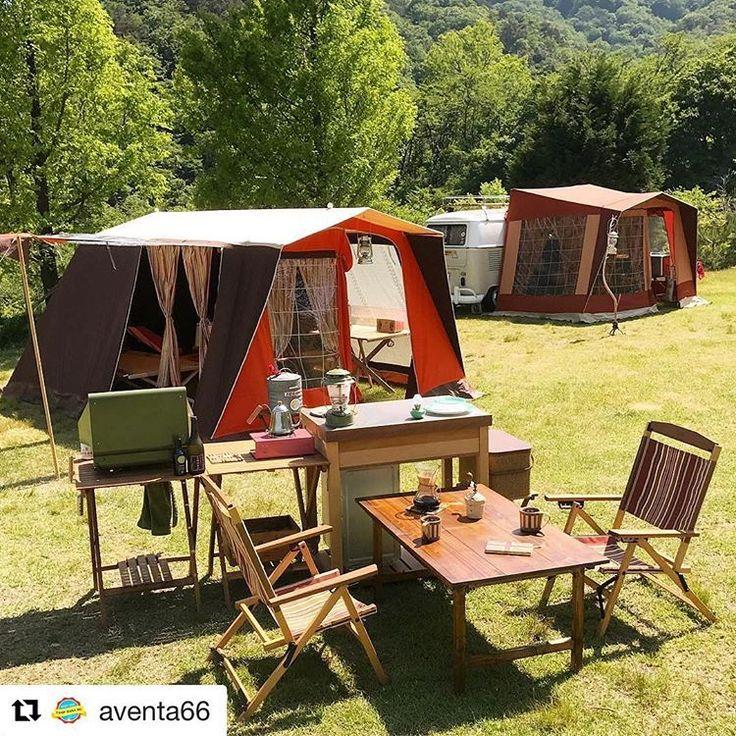 @aventa66 さんphoto✨ 青空ダイニング。 外リビング。 気持ちいい風を感じながら✨ * カウンター越しにテーブルで お店仕様❤️ *** ** #キャンプ #アウトドア #コールマン #オールドコールマン #シアーズ #マルシャル #カウンターキッチン #自作 #折りたたみテーブル #アウトサイドイン #キャンプギア #テント #てっこつ #DIY #camping #outdoor #instajapan