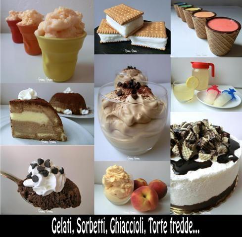 Gelati+e+Sorbetti+|+Raccolta+ricette