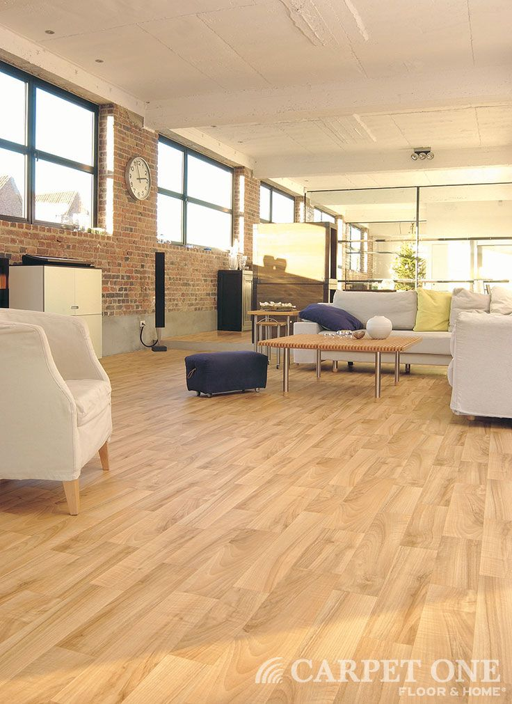 Vinyl flooring is beautiful, affordable and durable. It can even look like hardwood. Available at Signature Carpet One Floor & Home signaturecarpetonefremont.com