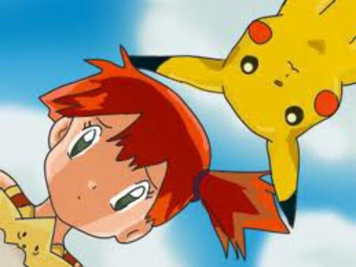 image Pokemon misty x kasumi super deepthroat