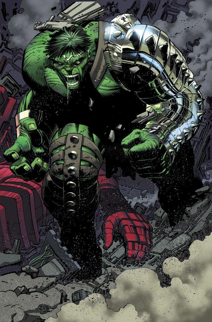 #Hulk #Fan #Art. (World War Hulk Issue 1 Page 42) By: CeeCeeLuvins. [THANK U 4 PINNING!!]