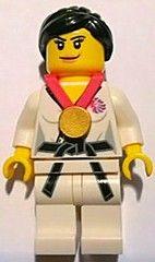 BrickLink Team GB. Judo Fighter.  Awww, its a girl.  :)