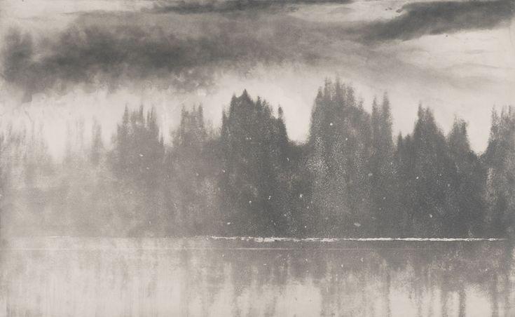 Loch Awe in Winter Norman Ackroyd
