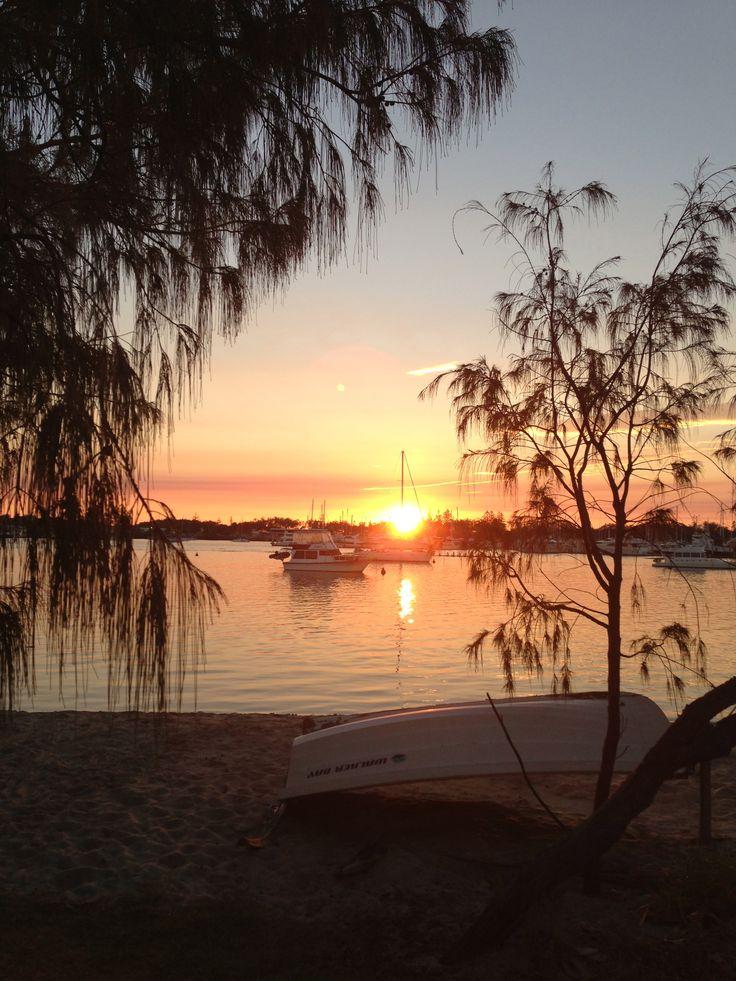 Sunrise at the Spit, Southport, Gold Coast Australia. Photographer Sara keany.