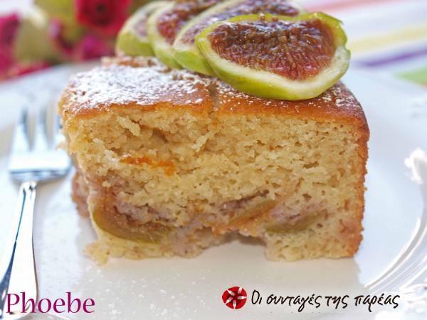 Υπέροχο κέικ με σύκα #sintagespareas