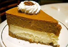 This double layer pumpkin pie recipe is a delicious alternative to regular pumpkin pie. Add a little variety to your holiday with this double delicious pie!