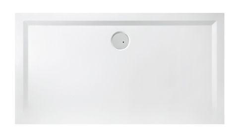 B-M/Space 110x90 öntött márvány zuhanytálca - zuhanytálca, műmárvány zuhanytálca, téglalap műmárvány zuhanytálca
