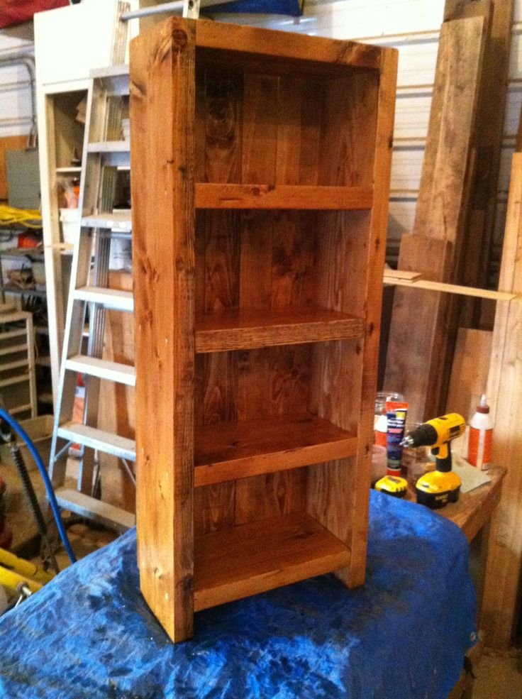Rustic Dvd Shelf My Completed Home Projects Pinterest Shelves Dvd Shelves And Rustic