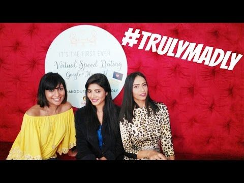 MissMalini's Virtual Speed Dating Hangout With #TrulyMadly.   Read the rest of this entry » http://datingandpersonal.com/missmalinis-virtual-speed-dating-hangout-with-trulymadly/ #Hangoutsonair, #Hoa, #HangoutsOnAir #VirtualDatingVideos