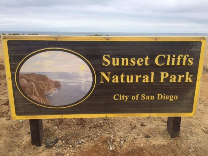 You can find Sunset Cliffs Natural Park just south of Ocean Beach Pier along scenic Sunset Cliffs Boulevard.