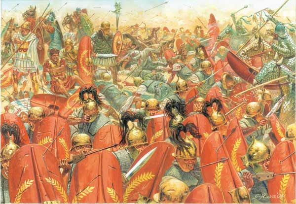 battle of carrhae | The Battle of Carrhae, 53 B.C. | Rivers From Eden - The Ancient Near ...