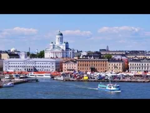 VIAJANDO PARA HELSINKI, CAPITAL DA FINLANDIA