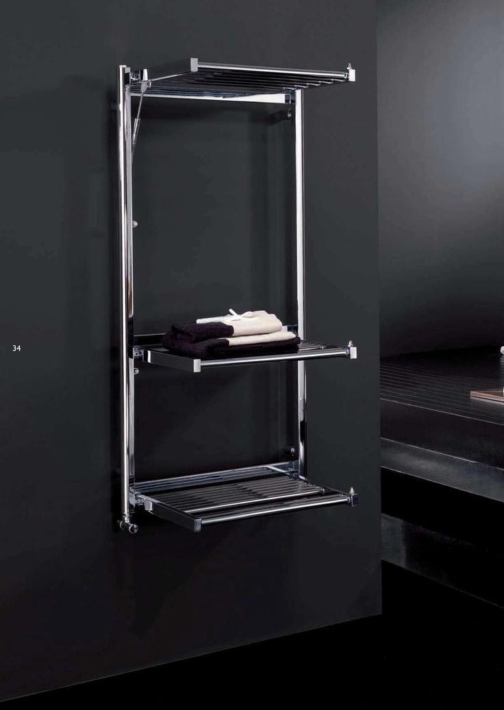 Radiador toallero multifunción de diseño Stendy de Deltacalor