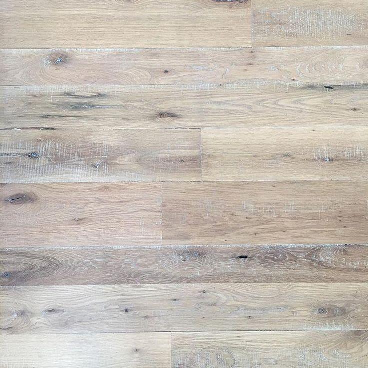 White Oak Rough Sawn Hardwood Floors Done At Random Widths
