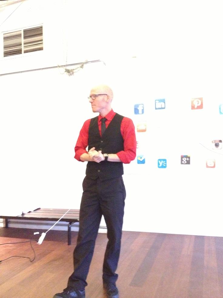 Thomas Bigum, Facebook-mand. Tempofyldt og praktisk mand på mediet - kan anbefales!