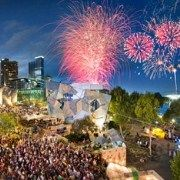 The place to be NY Eve!: Federation Square Vantage Point
