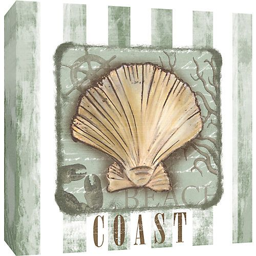 PTM's Coast Canvas Wall Art features a gallery wrapped coastal-inspired giclee print stretched around a 1.5'' stretcher bar. Framed art arrives ready to...