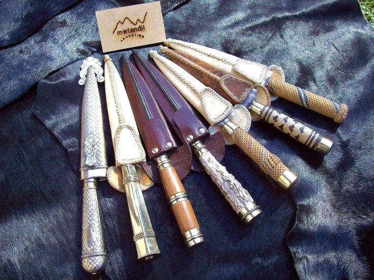 cuchillos criollos artesanales de Tandil, provincia de Buenos Aires