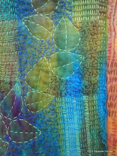 Musings of a textile itinerant, hand stitched