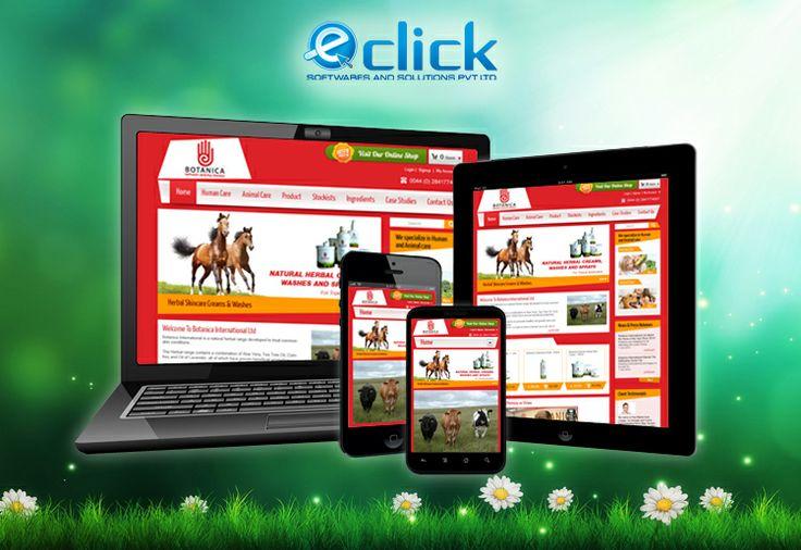 Eclick's latest #responsive #webdesign work.