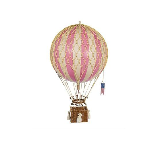 Rosa luftballong