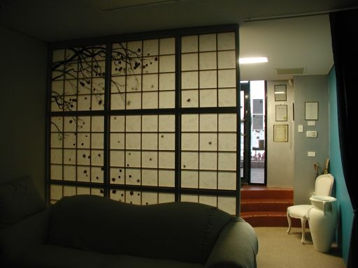 Japanese Screen Room Divider :) So That My Bedroom Is Separate From My  Living Room