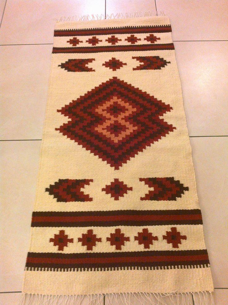 Székely festékes gyapjú faliszőnyeg - Wool tapestry by Anna Zentai - www.zentaianna.hu