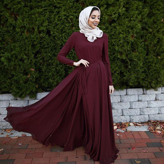 25+ best ideas about Hijab dress on Pinterest | Muslim dress Islamic fashion and Hijab styles