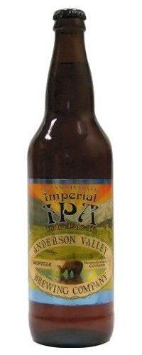 Cerveja Anderson Valley Imperial IPA, estilo Imperial / Double IPA, produzida por Anderson Valley , Estados Unidos. 8.7% ABV de álcool.