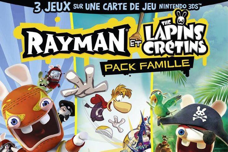 Jeux de lapin crétin (Rayman et les Lapins cretins – pack famille)