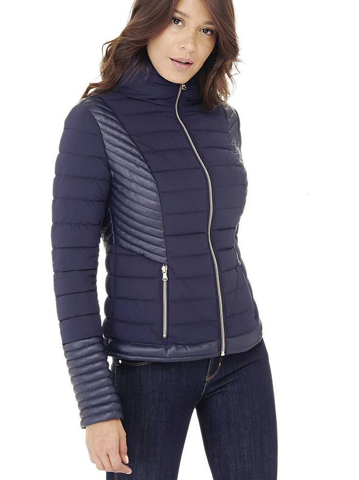 QUILTED DOWN JACKET on Guess.eu
