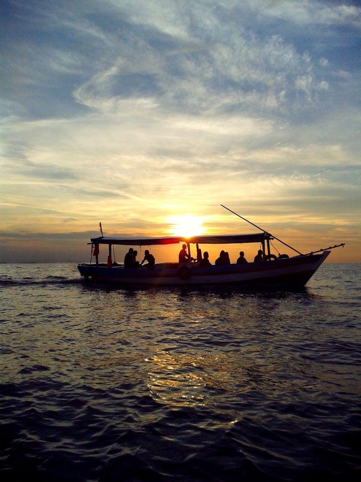 Sunset @ Untung Jawa Island, Pulau Seribu - Indonesia