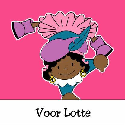 Zwarte Piet 2a - Sinterklaaskaarten - Kaartje2go