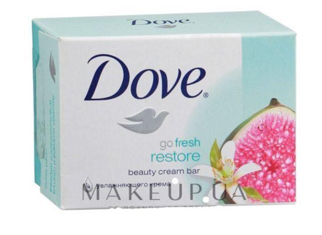"""3 pcs Cream-soap """"Fig and orange petals"""" DOVE face care #Dove"""