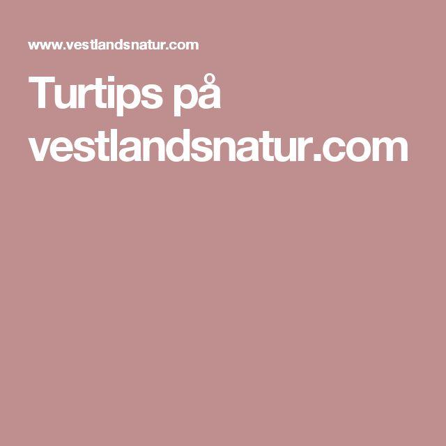 Turtips på vestlandsnatur.com