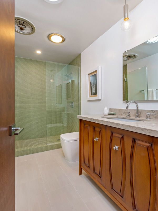 Mid Century California Design Los Feliz Modern Bathroomspowder