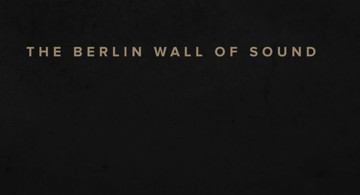 The Berlin Wall of Sound - Soundcloud by Grey Germany